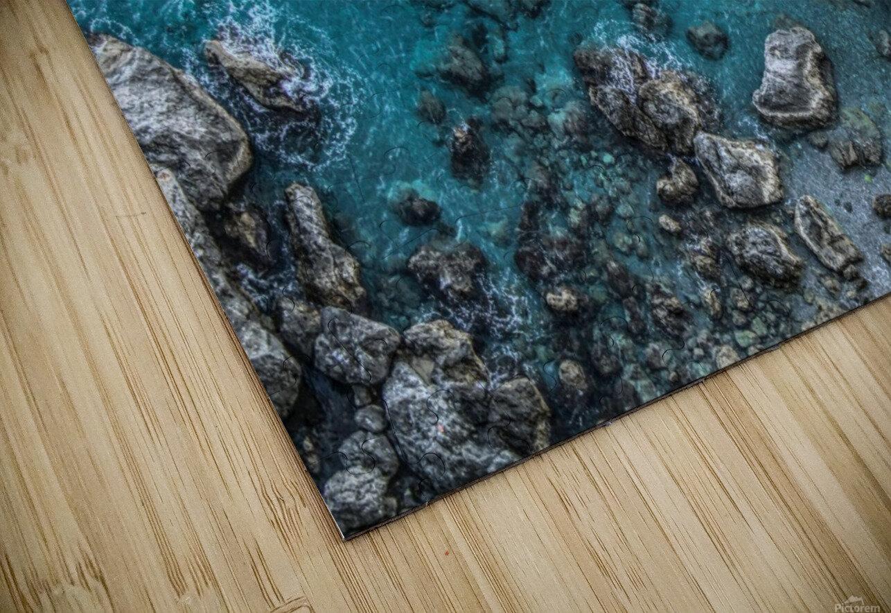 The Beach - Amalfi Coast - Italy HD Sublimation Metal print