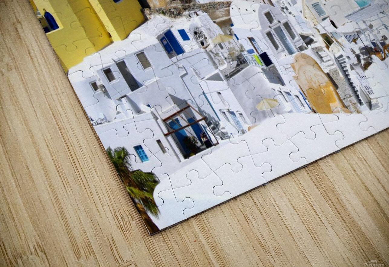 Colours of Santorini HD Sublimation Metal print