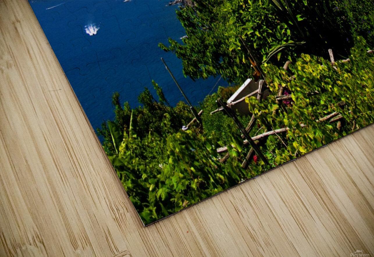 Amalfi Coast Landscape - Italy HD Sublimation Metal print