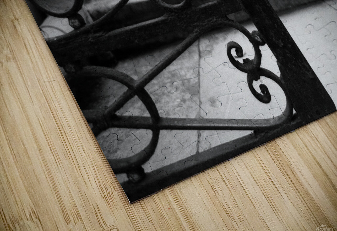 The gate HD Sublimation Metal print
