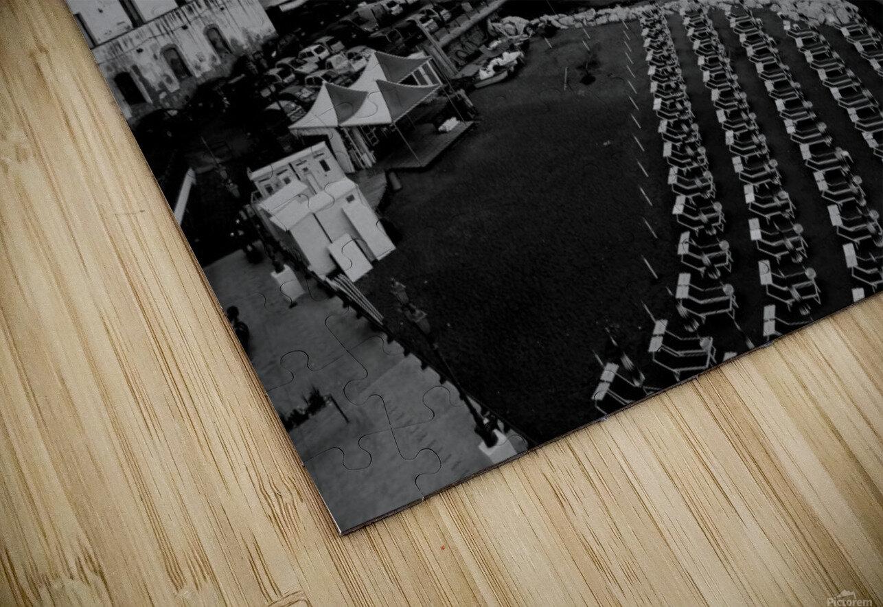 Atrani Village HD Sublimation Metal print