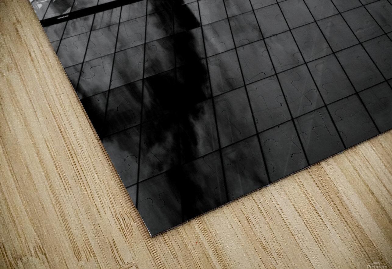 London Skyscraper II - Black and White HD Sublimation Metal print