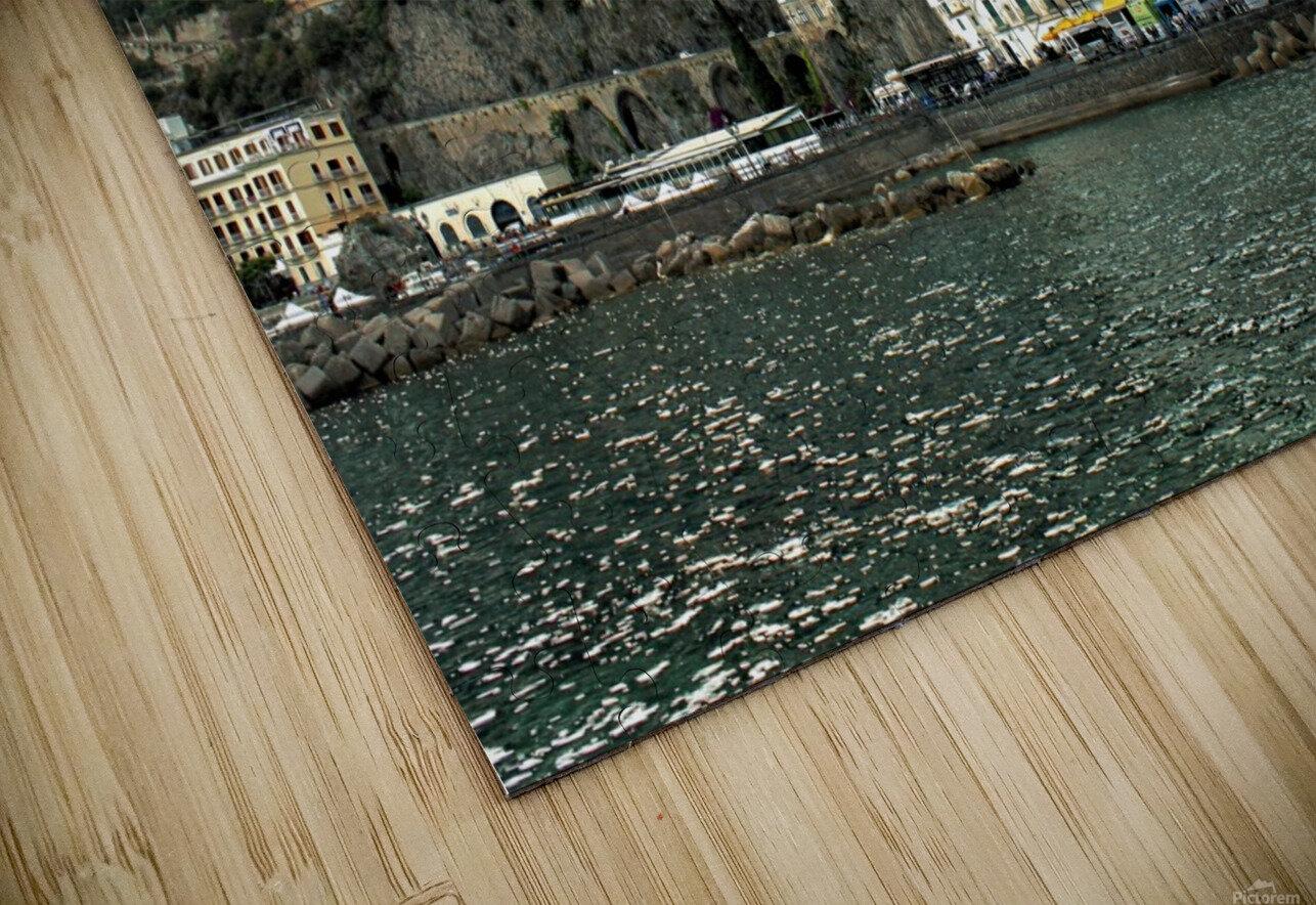 Italian Village Landscape - Amalfi HD Sublimation Metal print