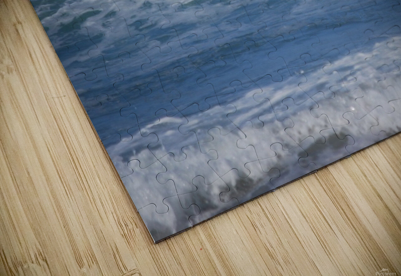 The Lone Surfer HD Sublimation Metal print