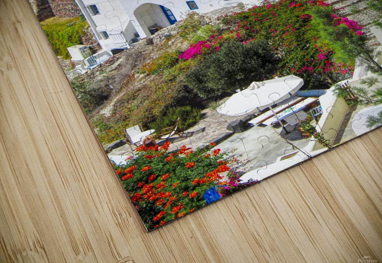 Portrait - Beautiful Village  HD Sublimation Metal print