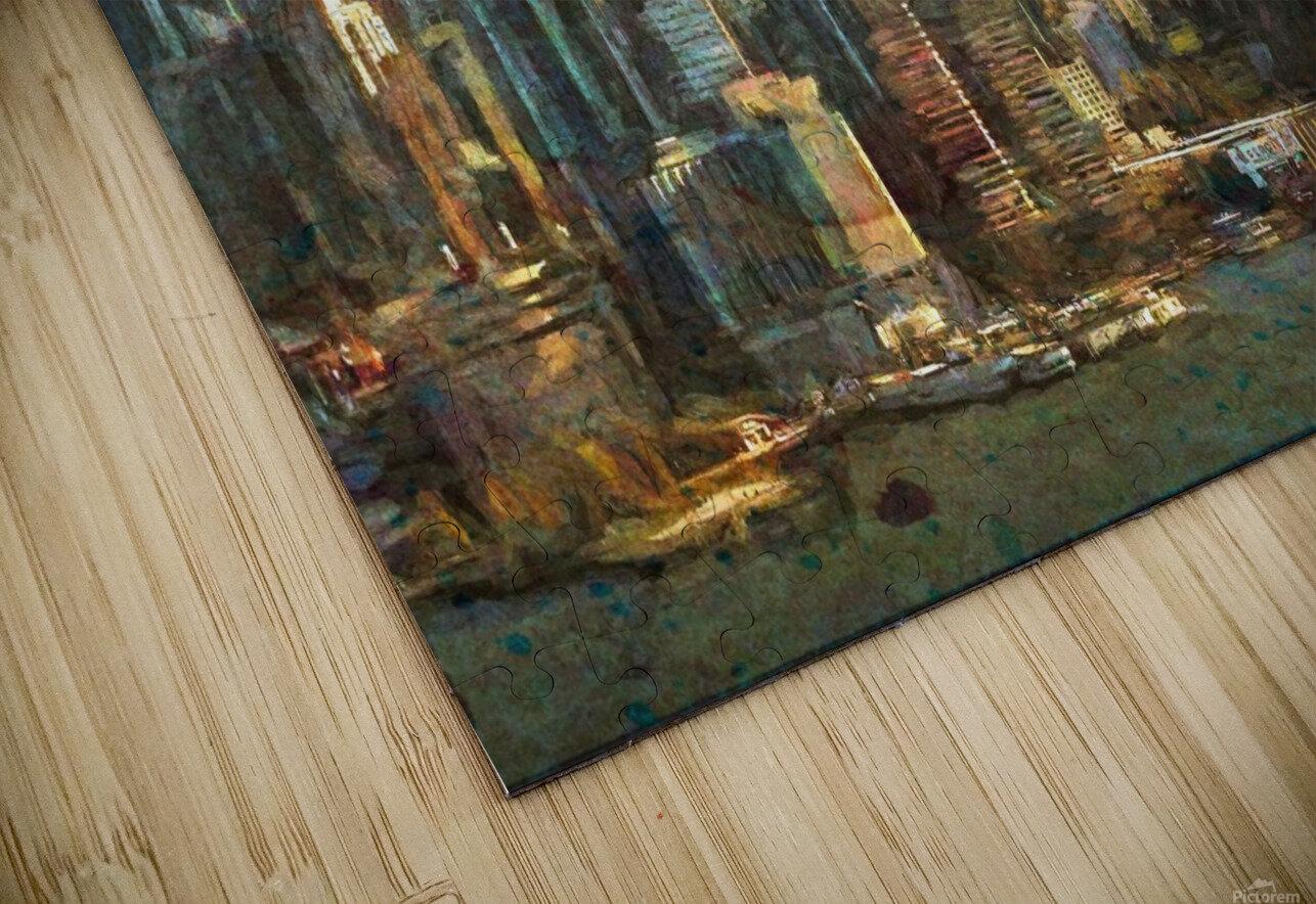New York Skyline HD Sublimation Metal print