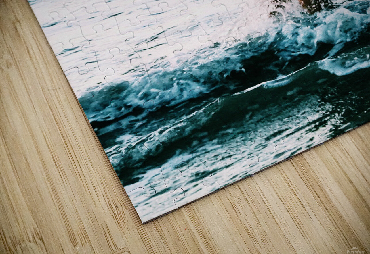 blue sea HD Sublimation Metal print