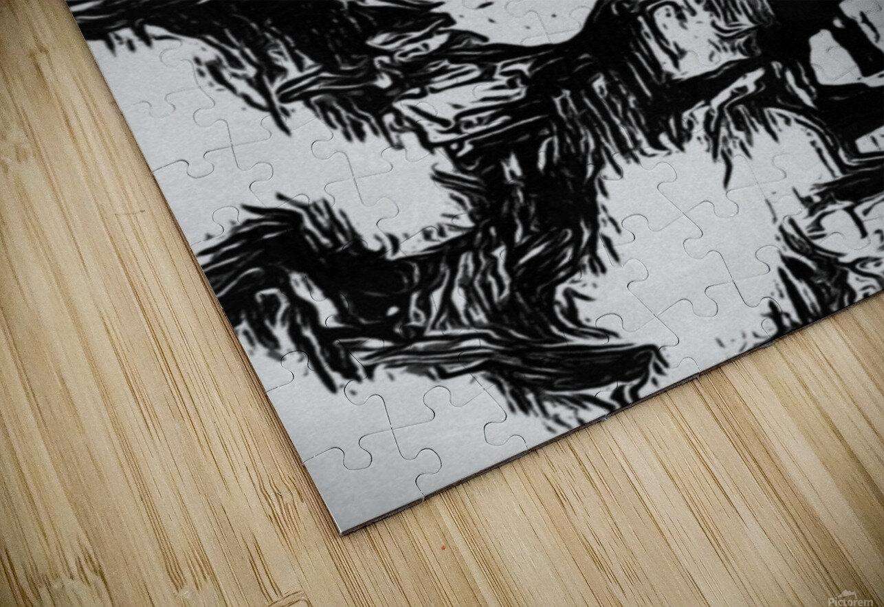 Consuming HD Sublimation Metal print