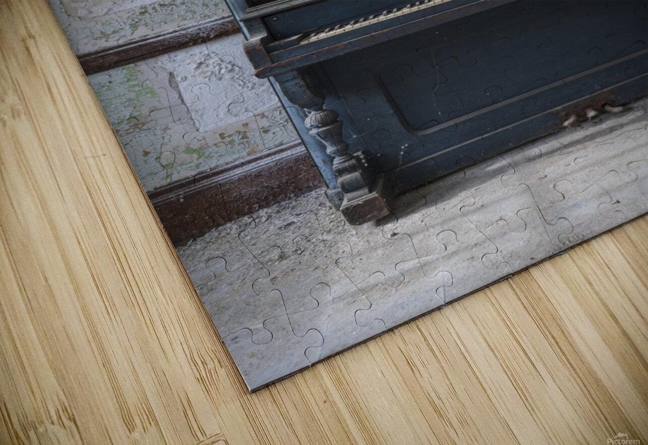 Abandoned Piano HD Sublimation Metal print