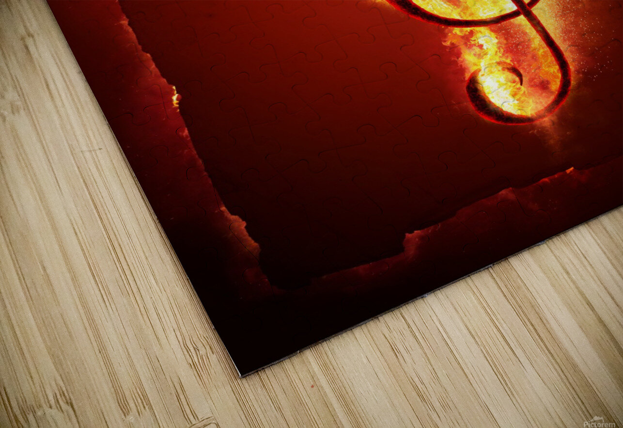Hot Music HD Sublimation Metal print