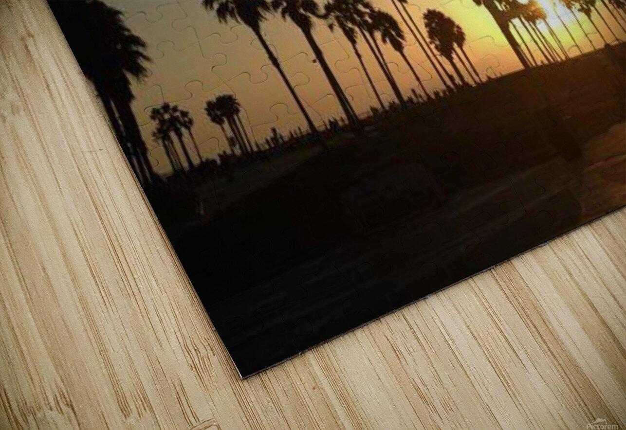 Venice Beach, California HD Sublimation Metal print