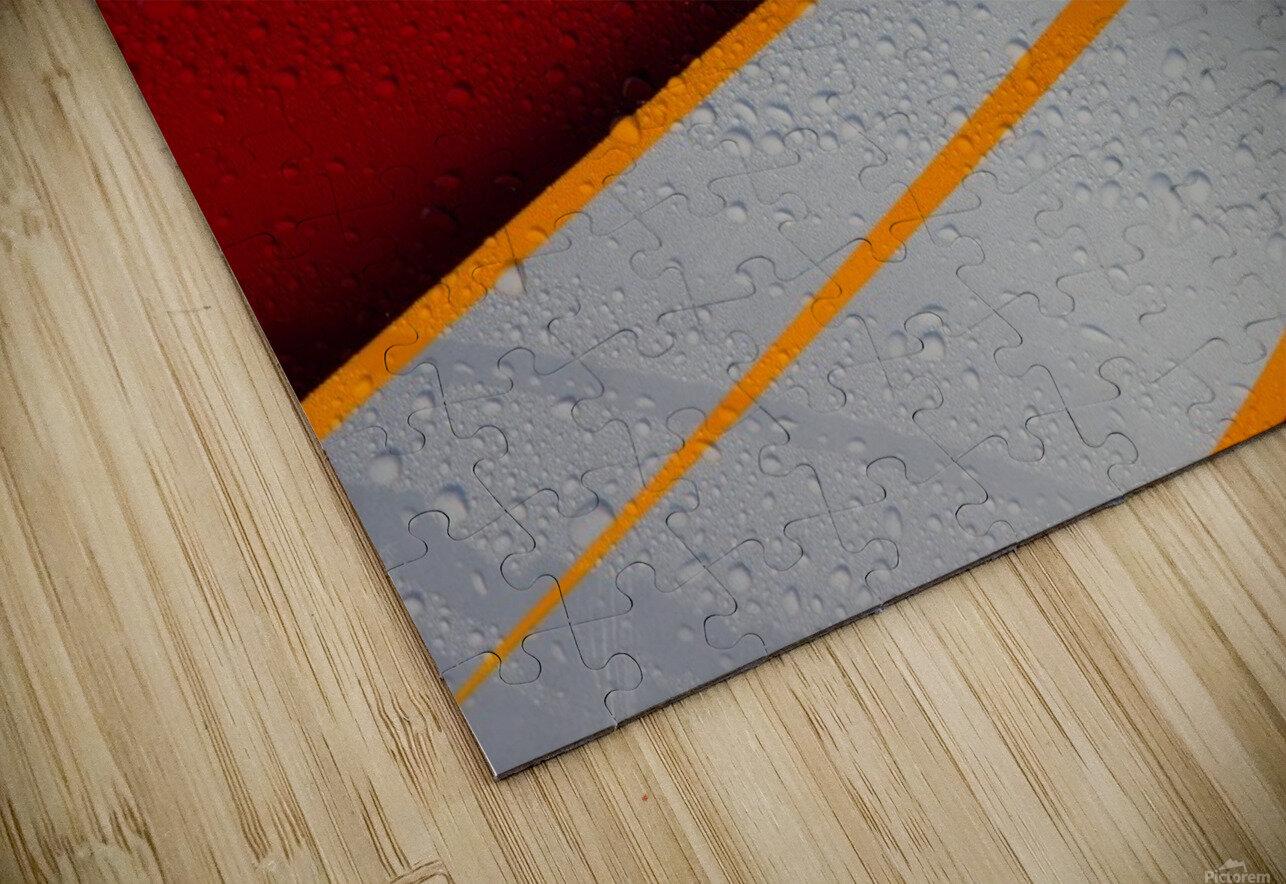 Droplets HD Sublimation Metal print