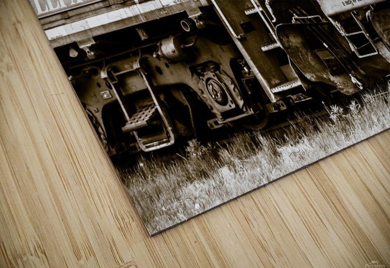 On the Tracks HD Sublimation Metal print