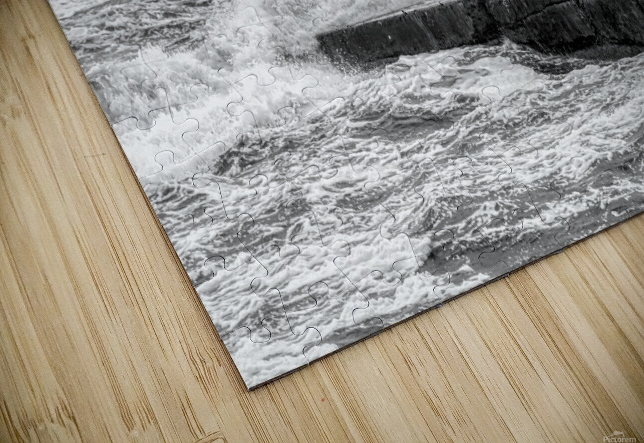 Stormy Seas HD Sublimation Metal print