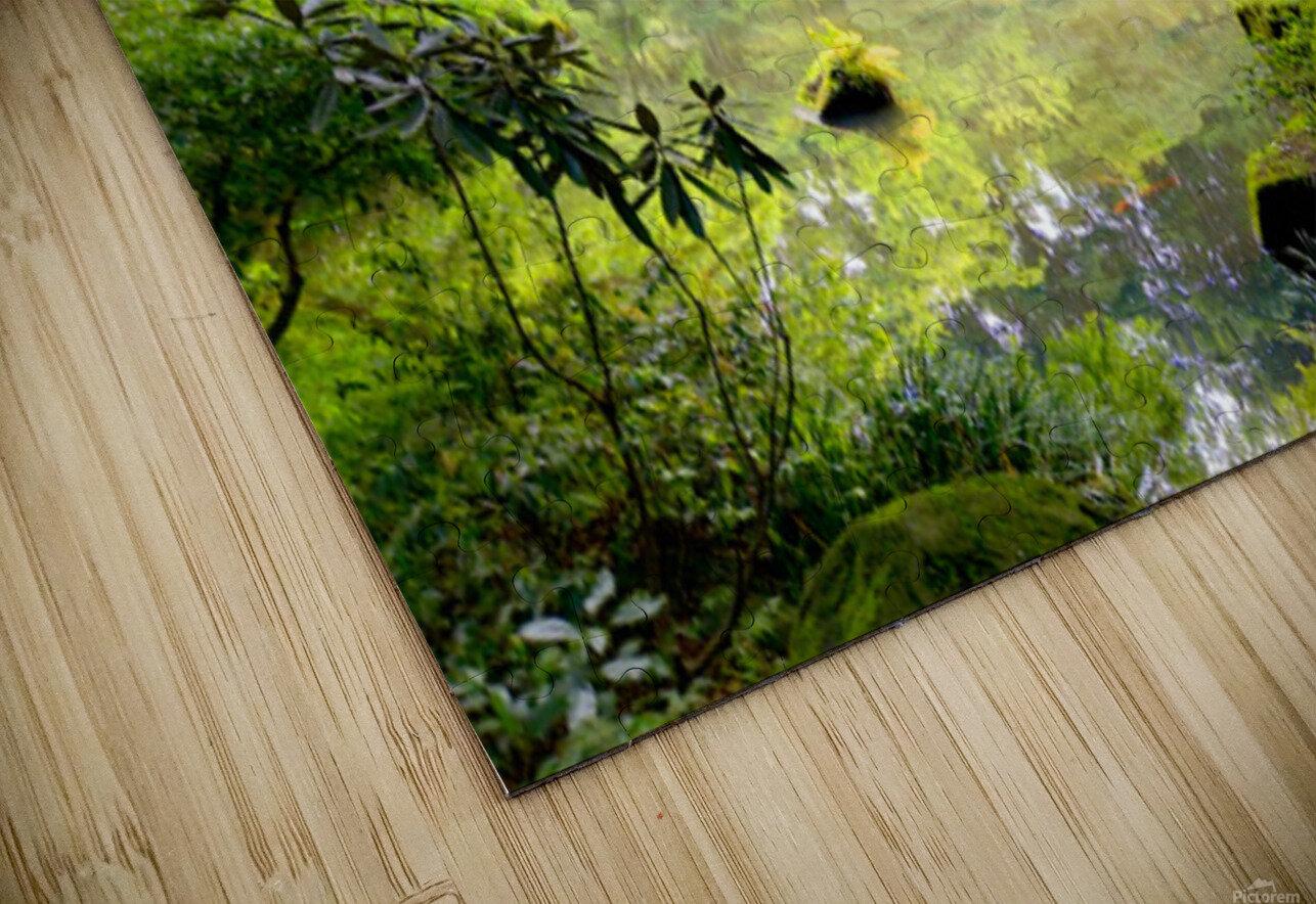 Tokyo Garden HD Sublimation Metal print