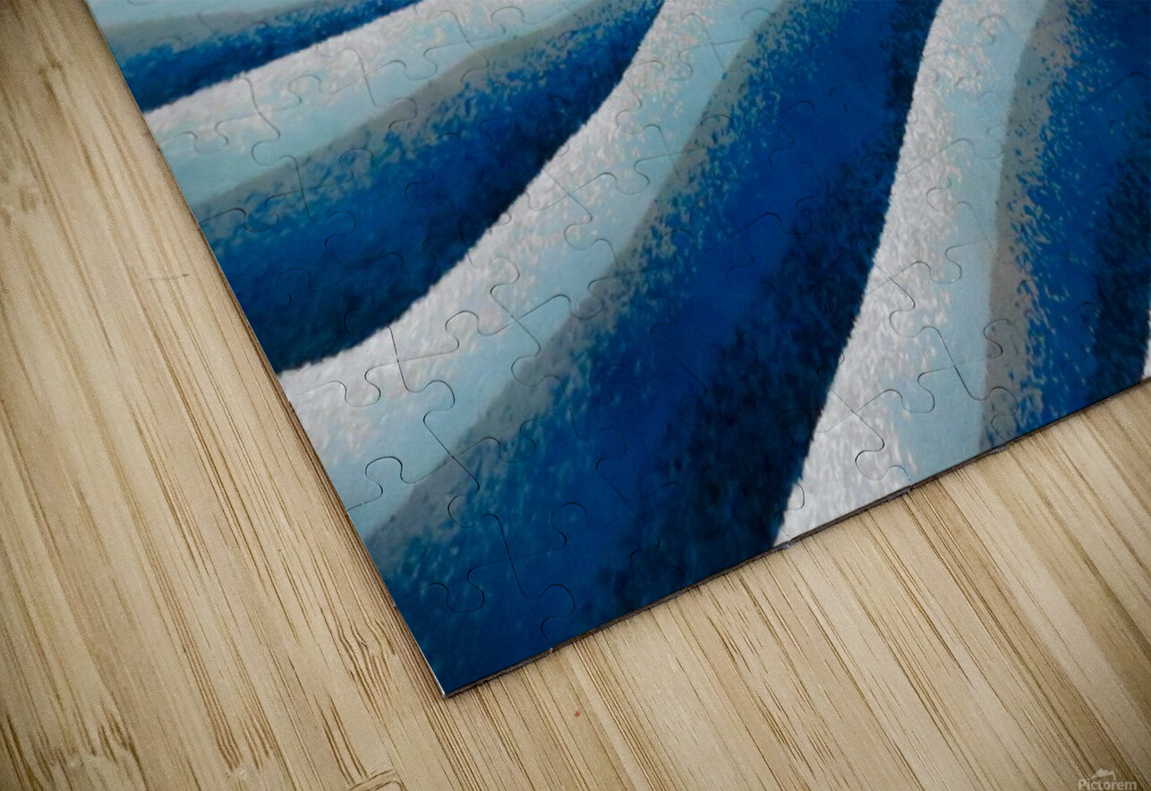 The Ice Field - La Banquise HD Sublimation Metal print