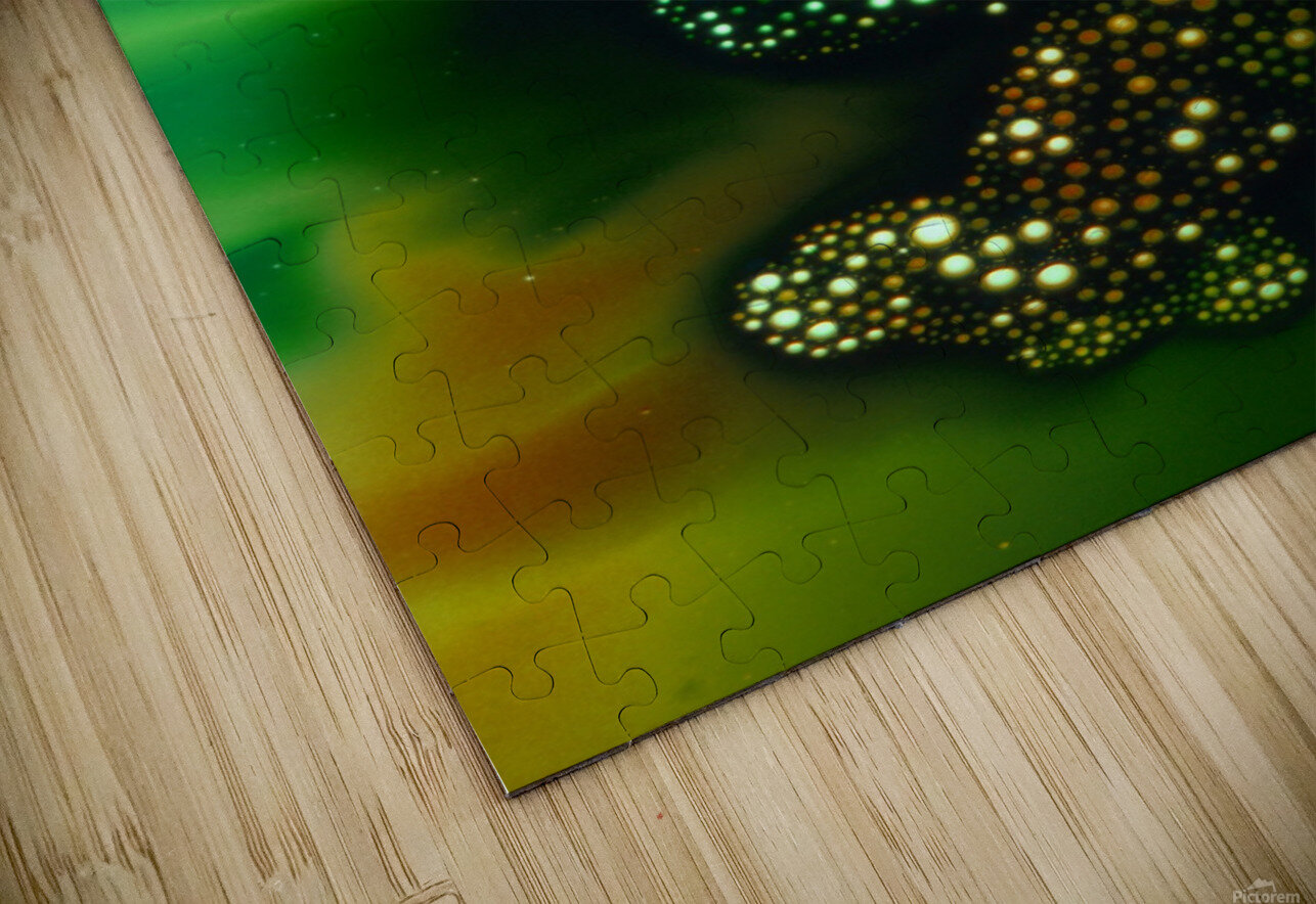 GREEN MONSTER HD Sublimation Metal print