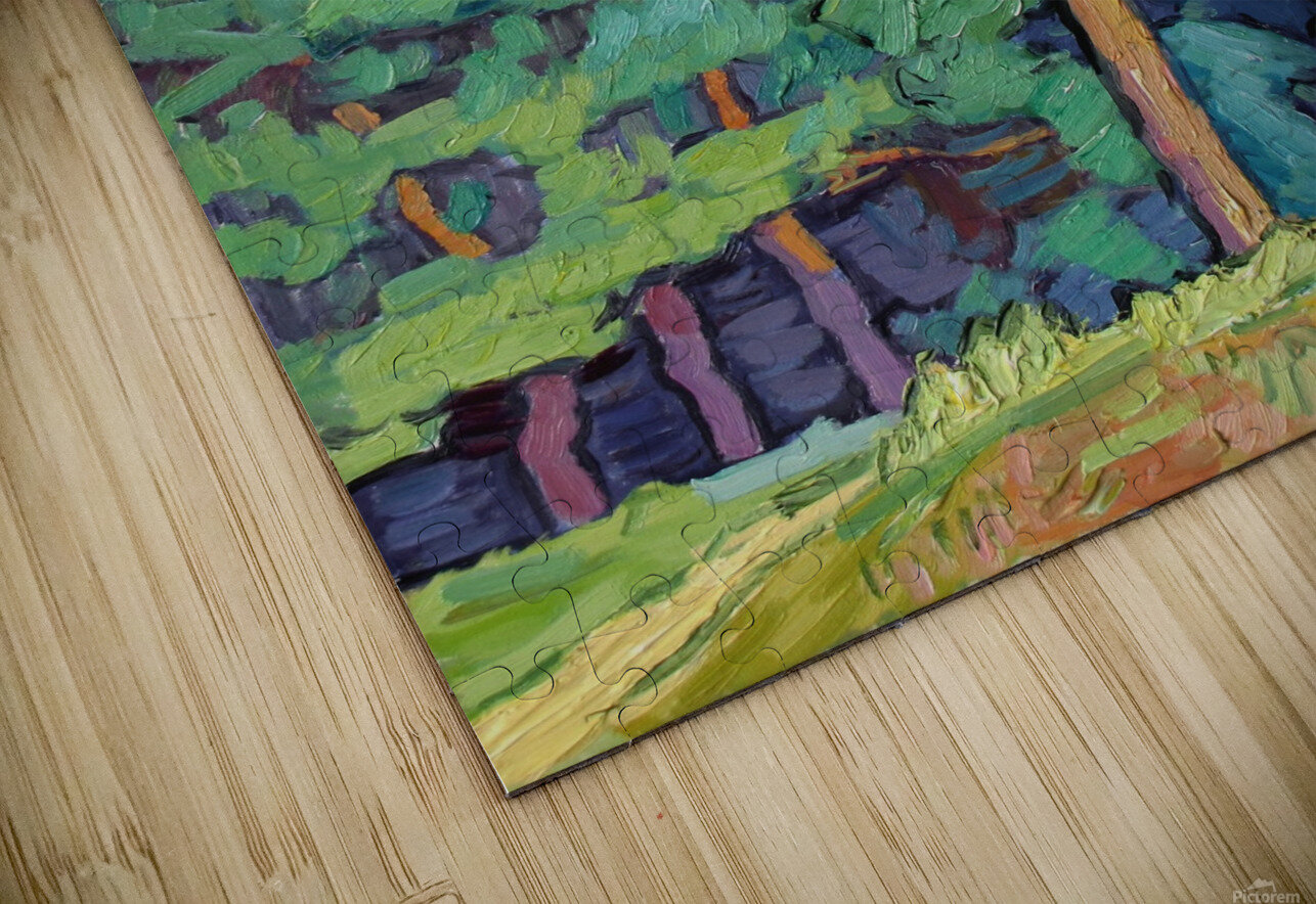 Edge of the Forest HD Sublimation Metal print