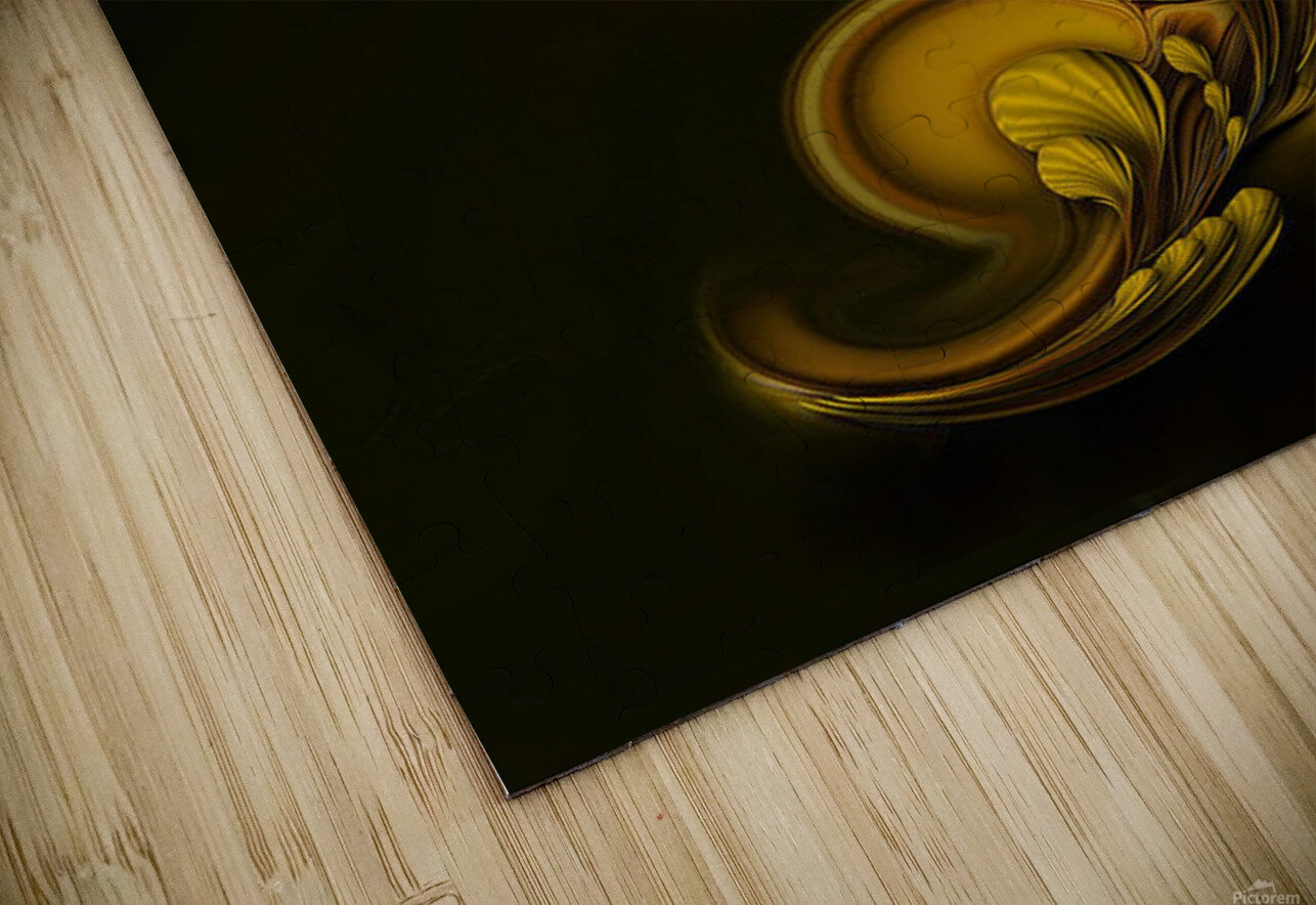 Abstraction With Meditation HD Sublimation Metal print