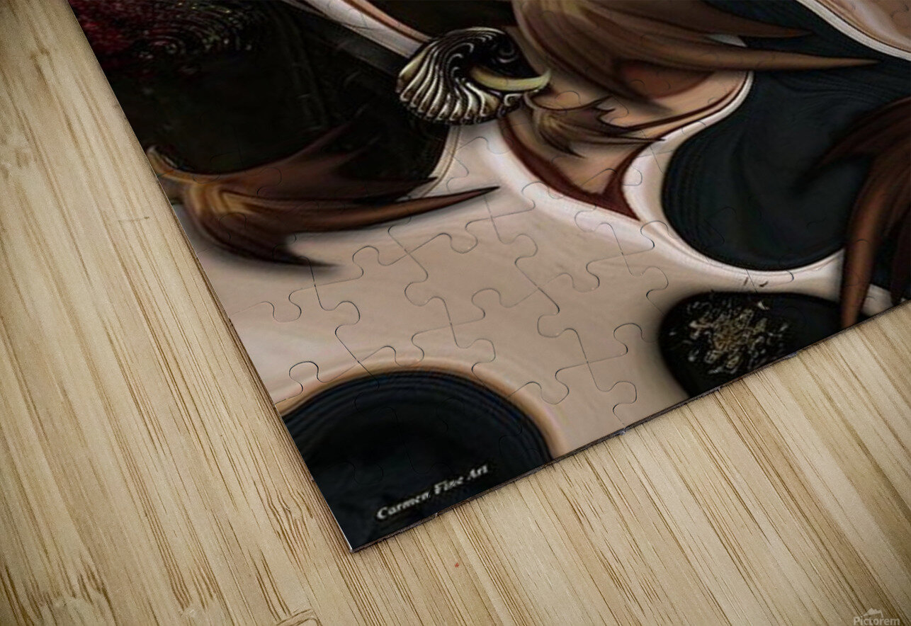 Autumnal Material HD Sublimation Metal print