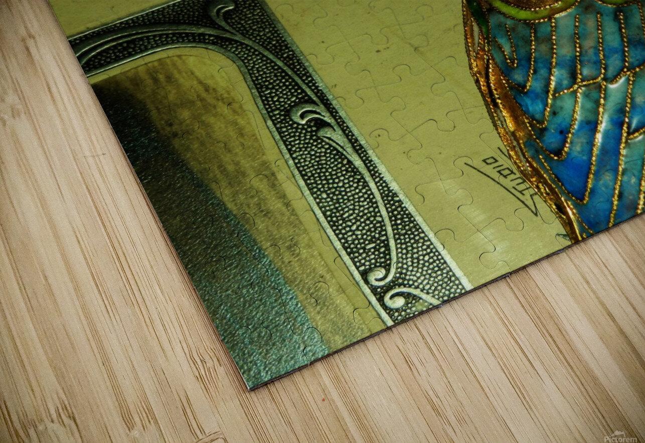 D (4) HD Sublimation Metal print