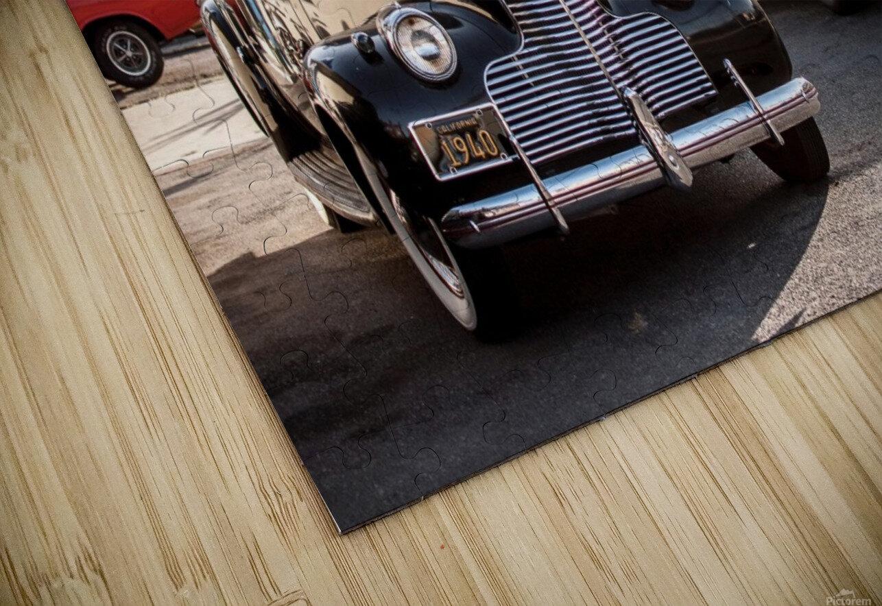 Classy Old school Car HD Sublimation Metal print
