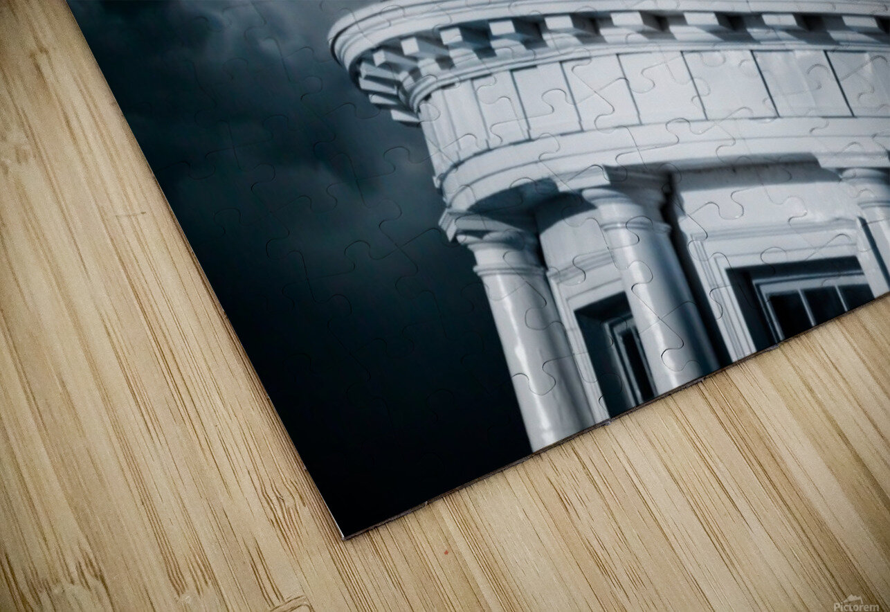 Kingstons Clock HD Sublimation Metal print