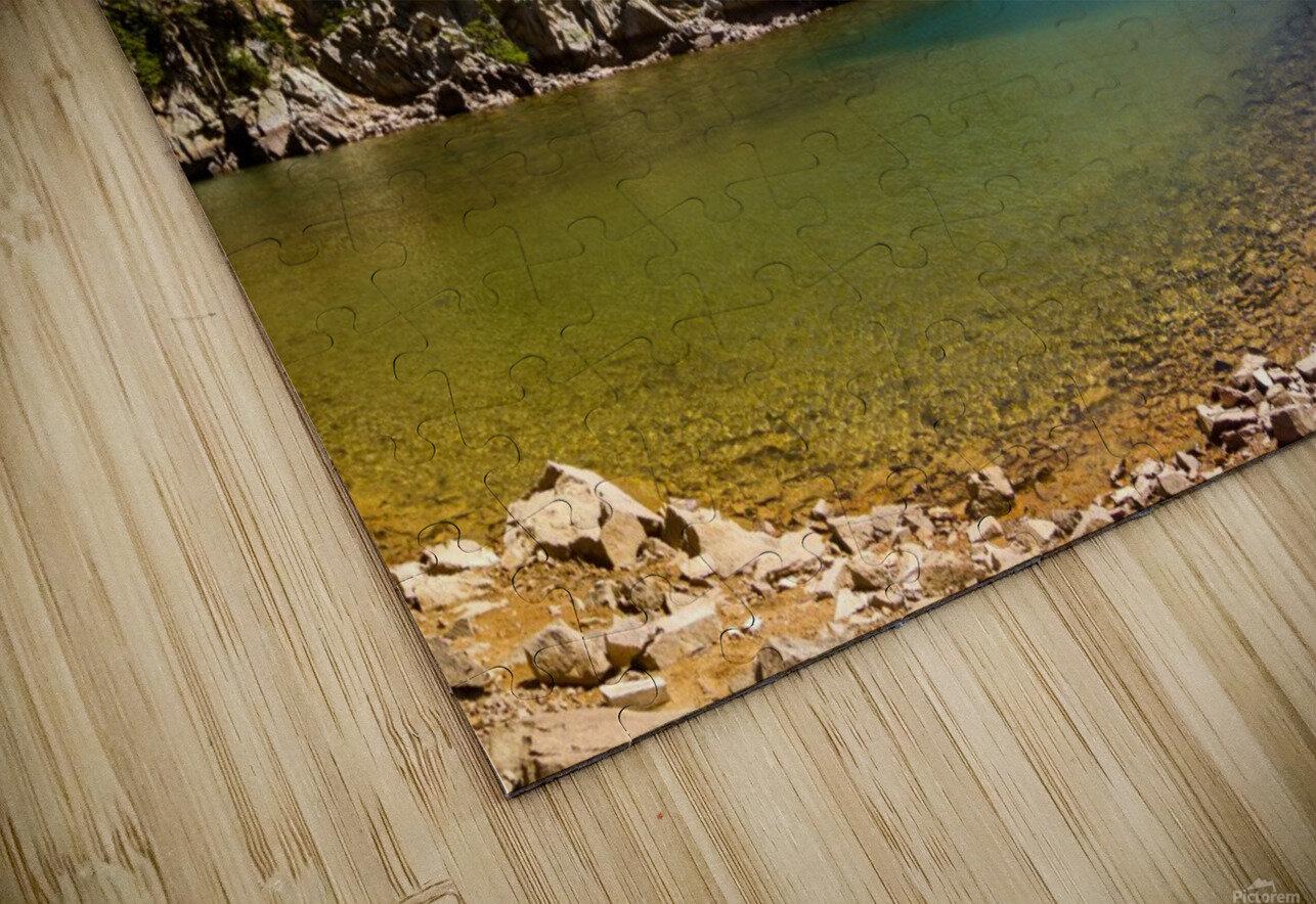 Lake Agnes CO - Glacial Lake  Impression de sublimation métal HD