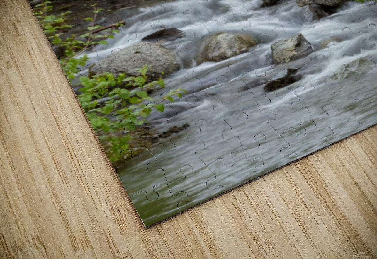 Beautiful Waterfall Picture in Alaska HD Sublimation Metal print