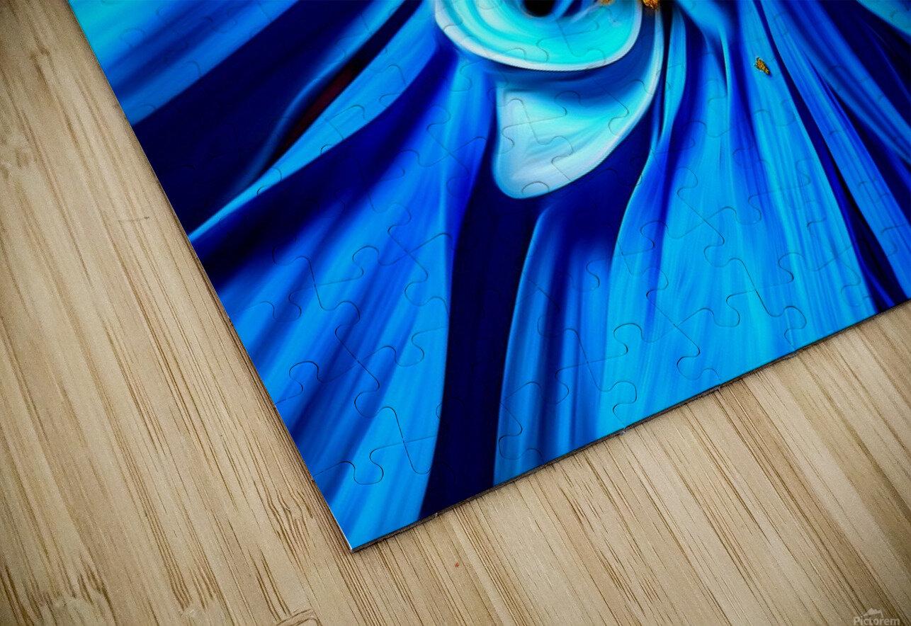 Beautiful Blue Flower_OSG HD Sublimation Metal print