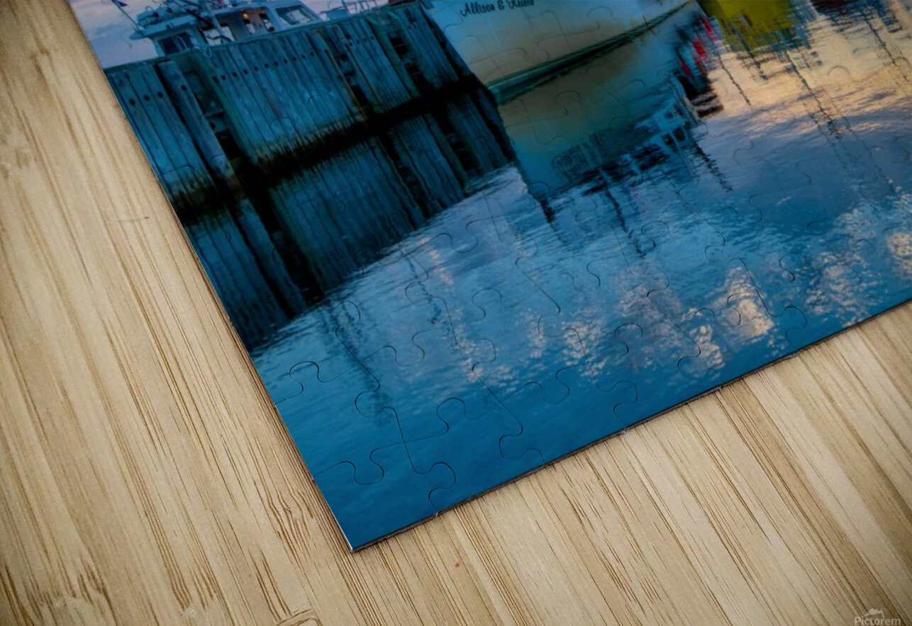 Ready for Crabbing HD Sublimation Metal print