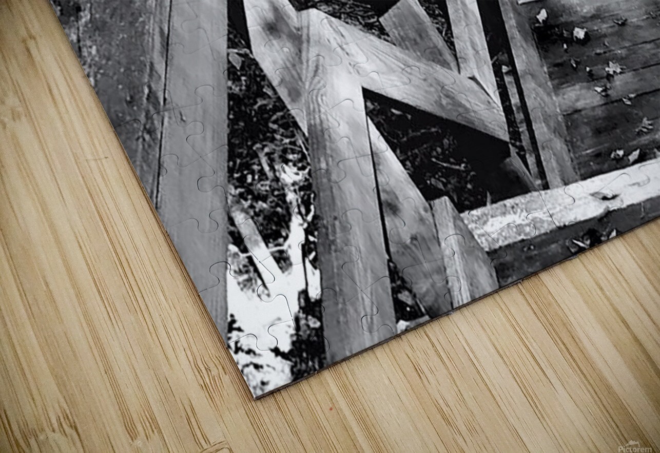 Jagged Edge HD Sublimation Metal print