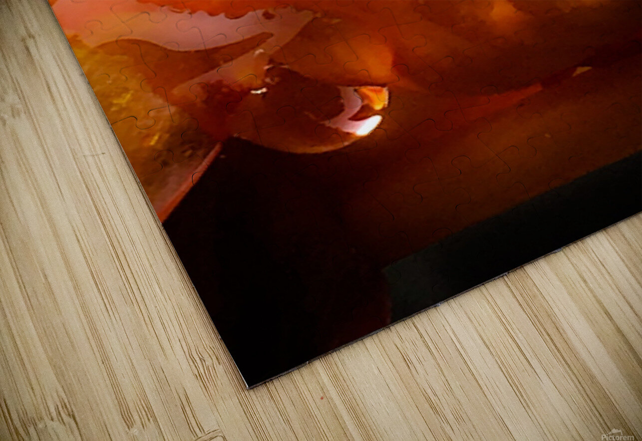Sweet Orange sweat Impression de sublimation métal HD