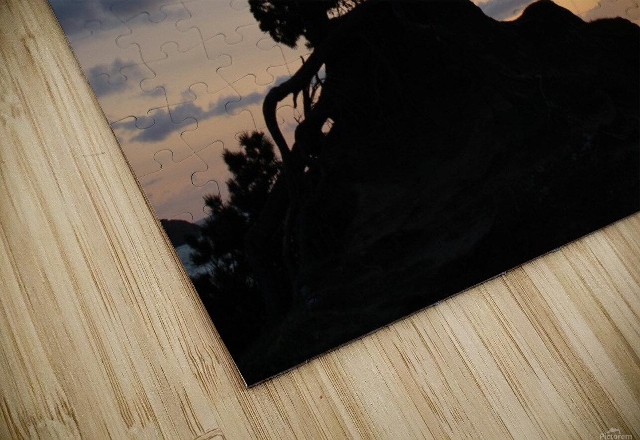 Coastal Sunset HD Sublimation Metal print