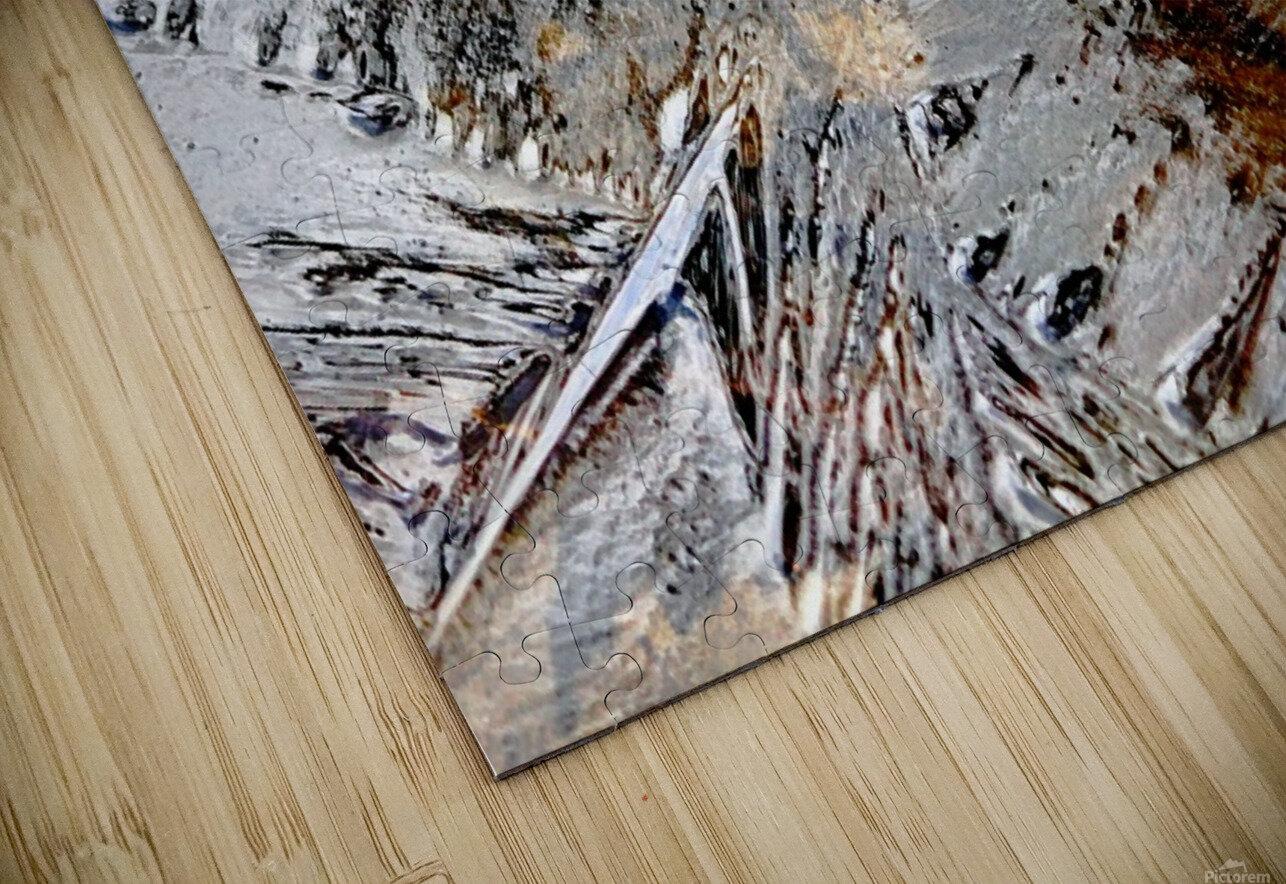 Frozen HD Sublimation Metal print