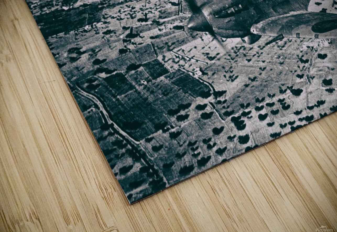 Formation Of Spitfires - 1943 HD Sublimation Metal print