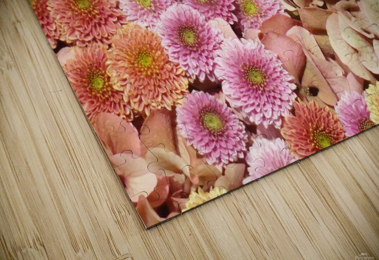 Flowers HD Sublimation Metal print