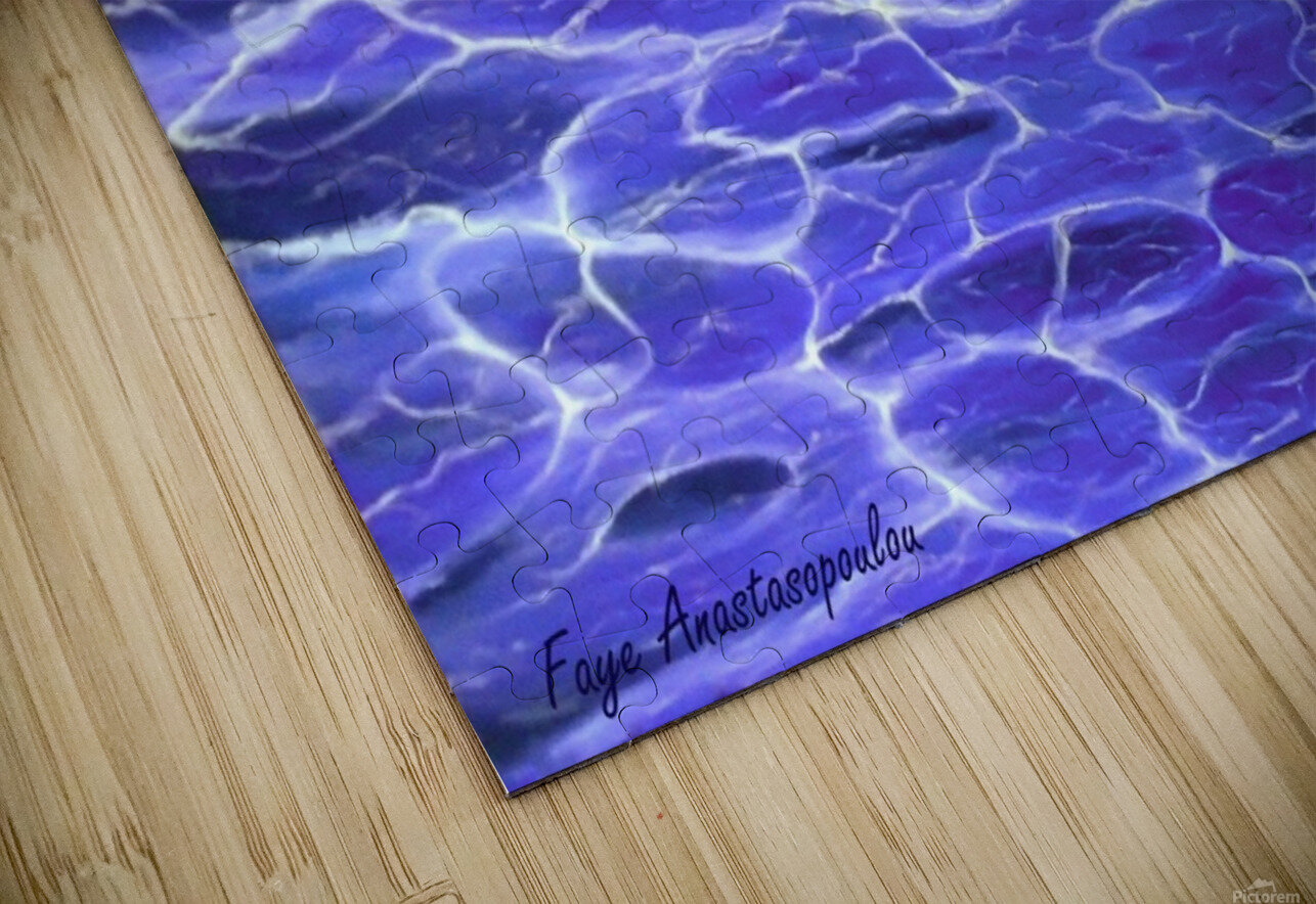 On The Surface HD Sublimation Metal print