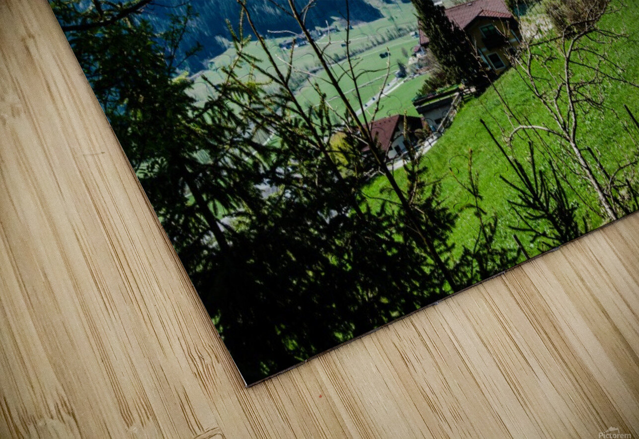 In The Alps HD Sublimation Metal print