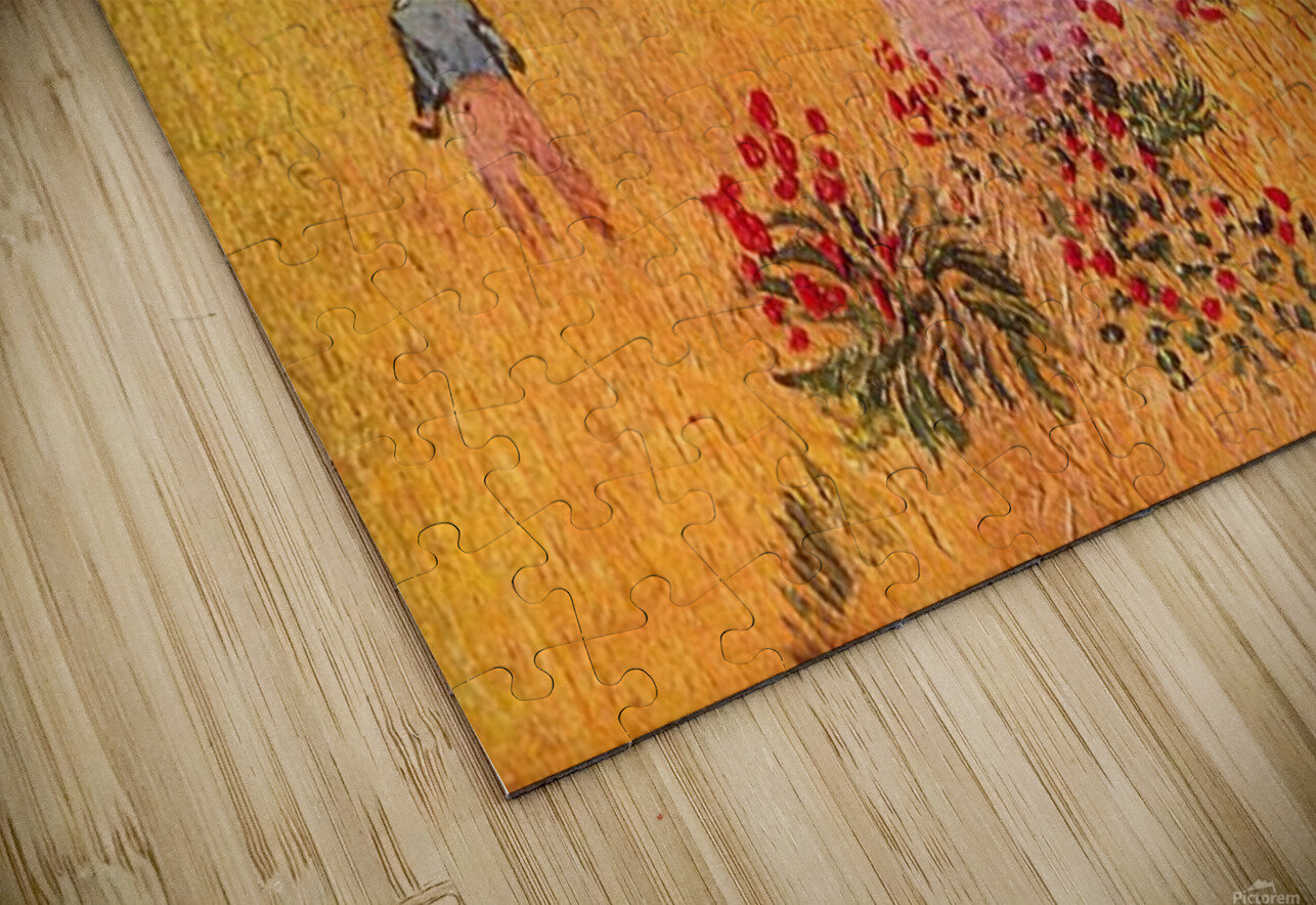Farmhouse in Provence by Van Gogh HD Sublimation Metal print