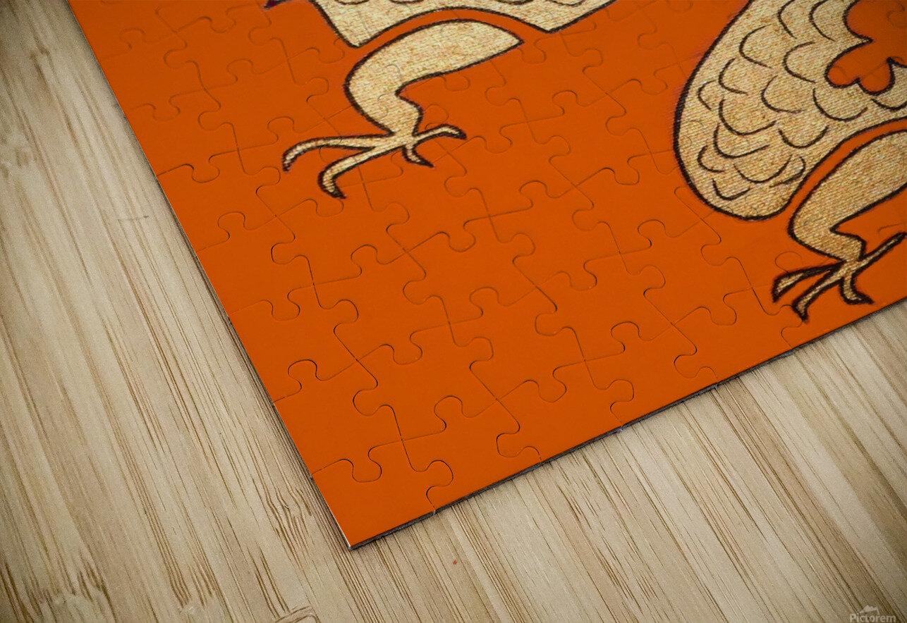 Asian Dragon Icon No.1 HD Sublimation Metal print