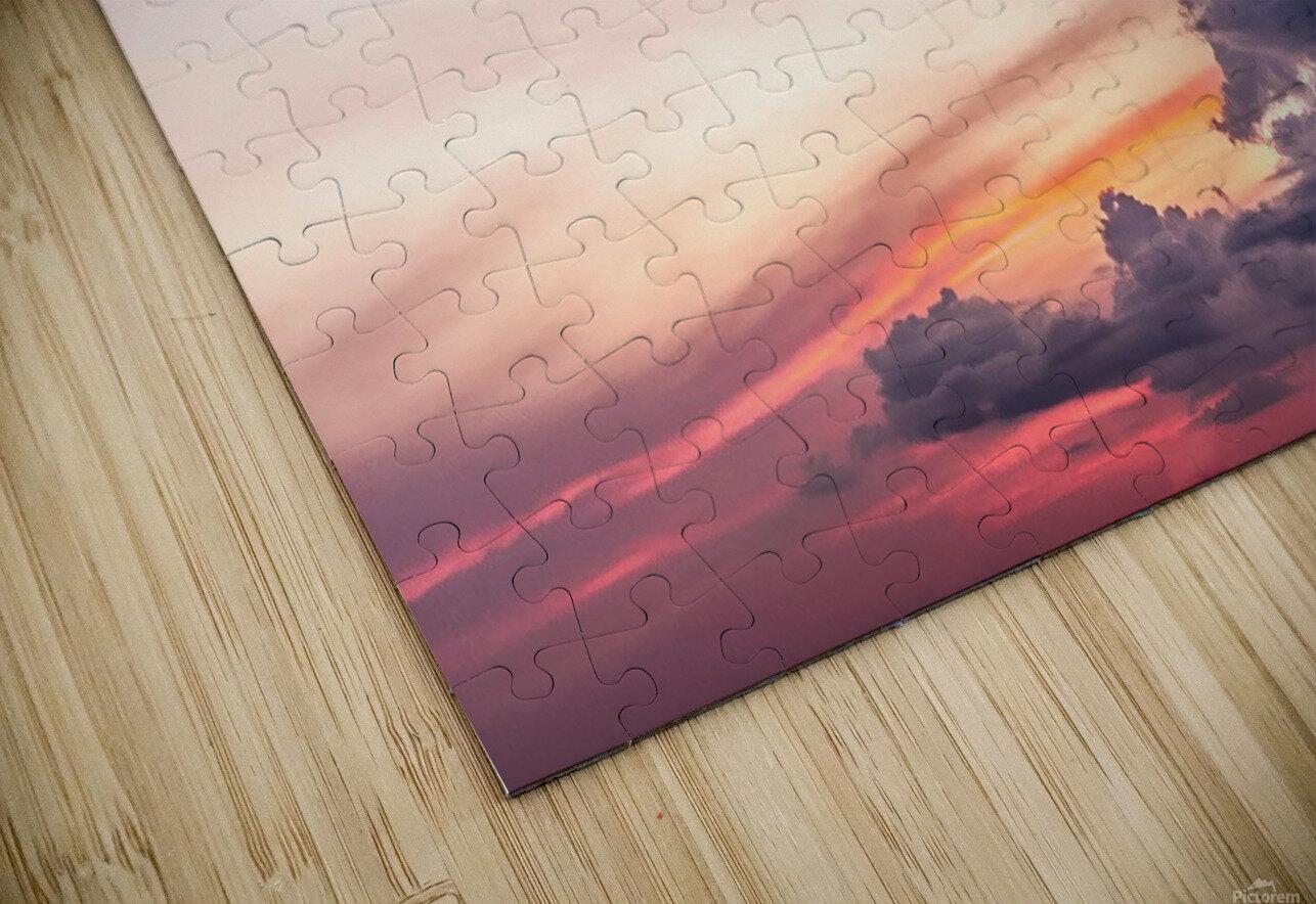 Summer Sunset HD Sublimation Metal print