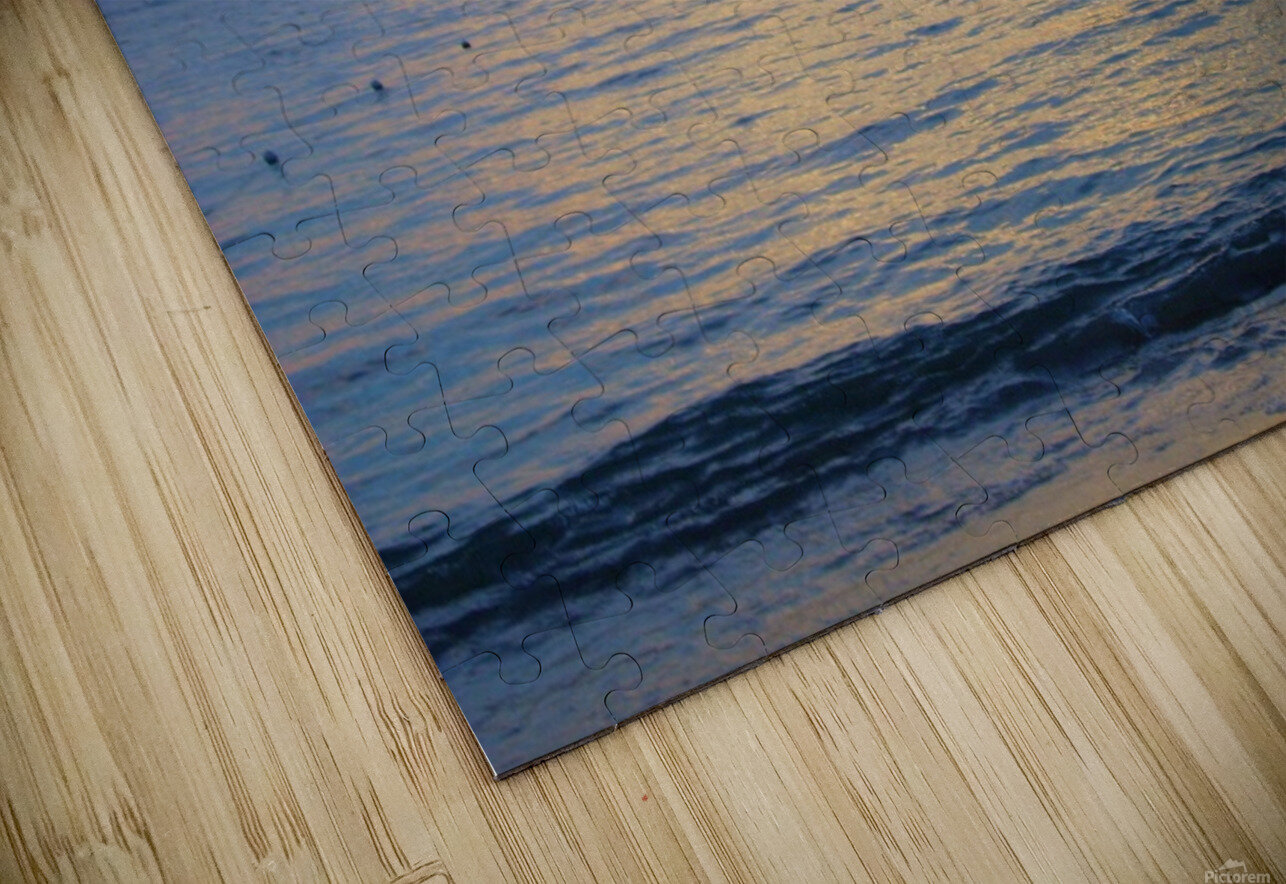 Tropical Sunset 4 HD Sublimation Metal print