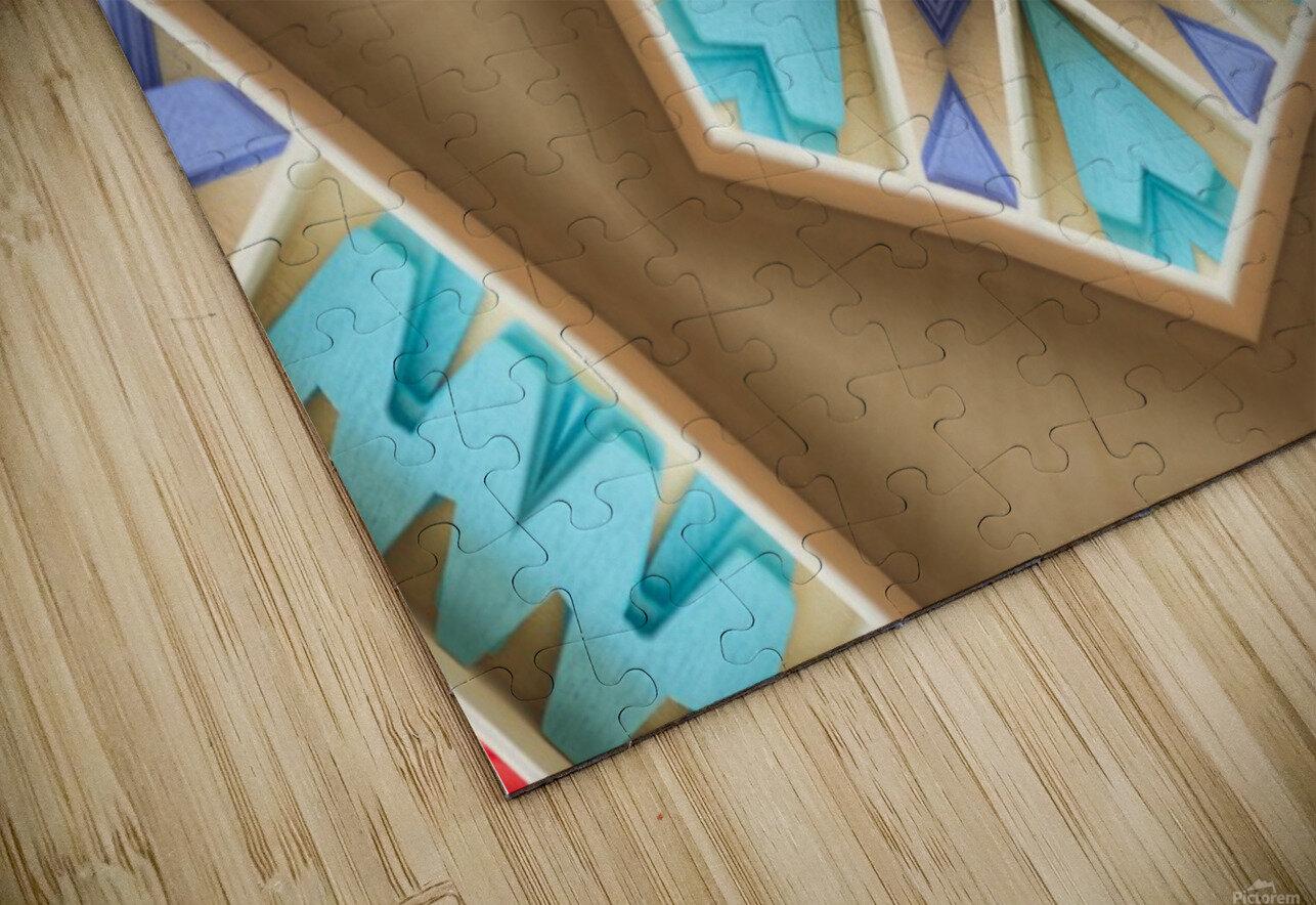 Pattern design HD Sublimation Metal print