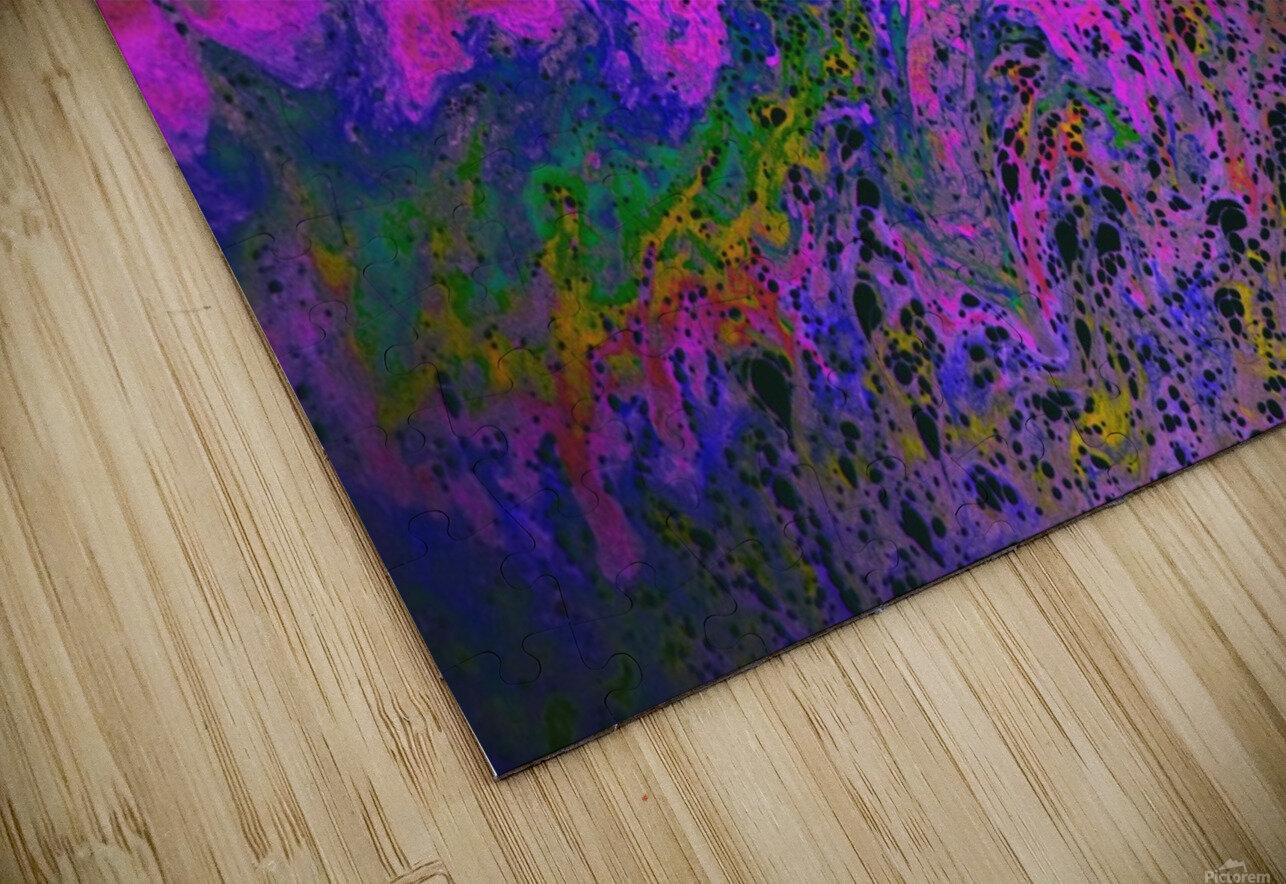 Bubbles Reimagined 55 HD Sublimation Metal print