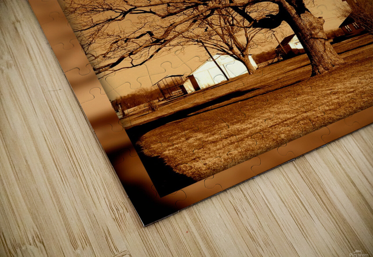 Magnificent Tree HD Sublimation Metal print