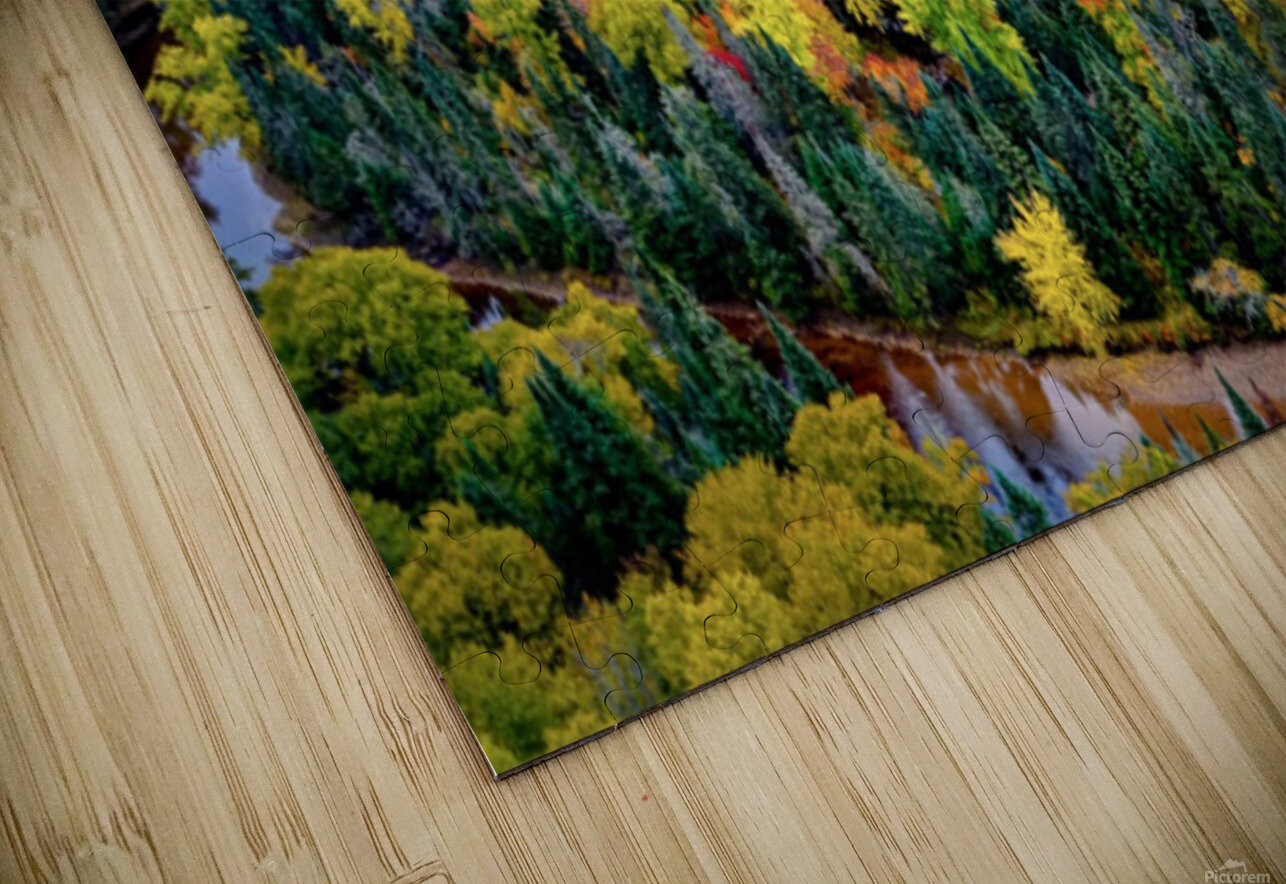 Tremblant HD Sublimation Metal print