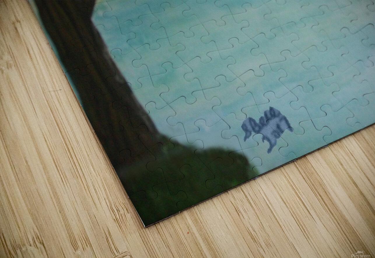 Maine Moose HD Sublimation Metal print