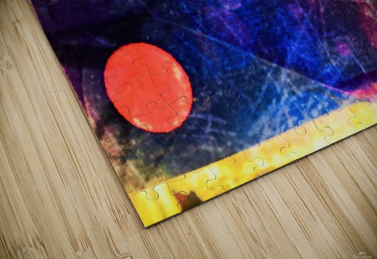 Star Dust HD Sublimation Metal print