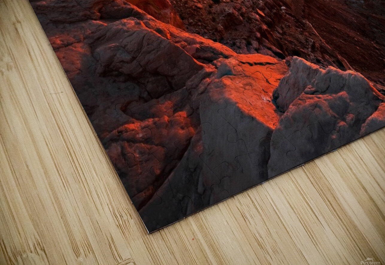 Mesa Arch Sunrise HD Sublimation Metal print